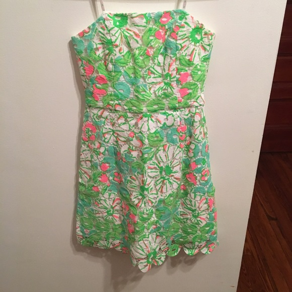 9c9da51edc2f71 Lilly Pulitzer Dresses | Rana Dress Blue Splishsplash Size 0 | Poshmark